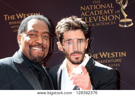 LOS ANGELES - MAY 1:  James Reynolds, Brandon Beemer at the 43rd Daytime Emmy Awards at the Westin Bonaventure Hotel  on May 1, 2016 in Los Angeles, CA