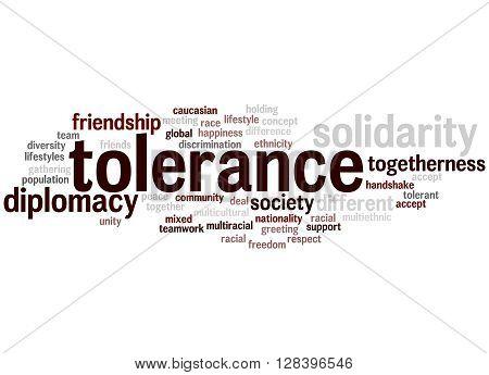 Tolerance Word Cloud Concept 2
