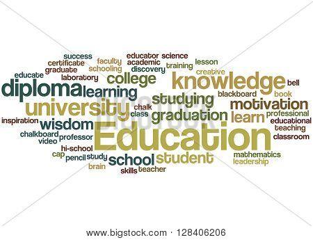 Education, Word Cloud Concept 5