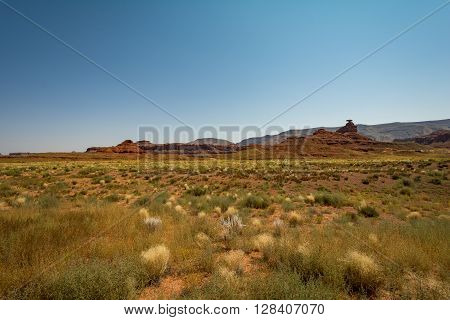 Mexican Hat, a stone looking like a Hat