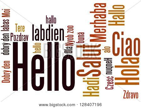 Hello, In Different Languages