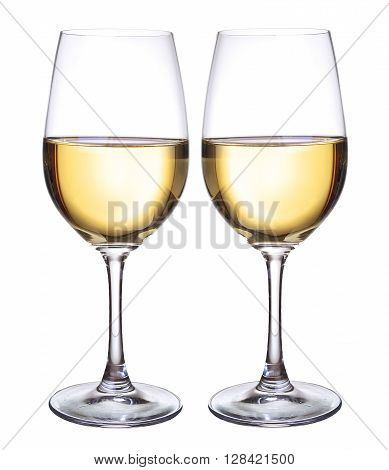 Wineglass with wine as a background. Concept and idea