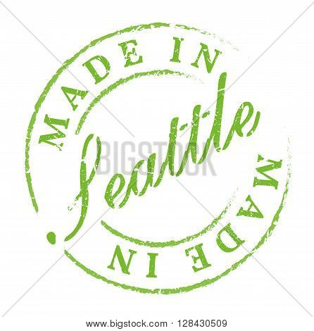 Made In Seattle Eco Stamp