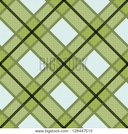 Seamless Diagonal Pattern In Warm Hues