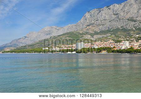 Coastal Landscape In Croatia