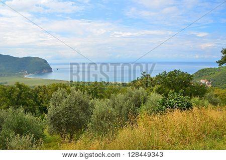 Coastal Landscape In Montenegro