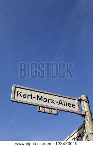 Karl-marx-allee, Berlin, Germany