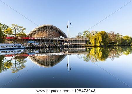 The Haus Der Kulturen Der Welt (house Of World Cultures) In Berlin