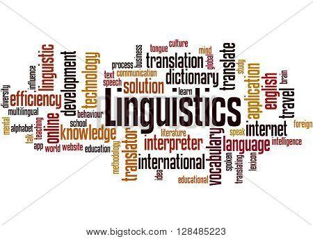 Linguistics, Word Cloud Concept 3