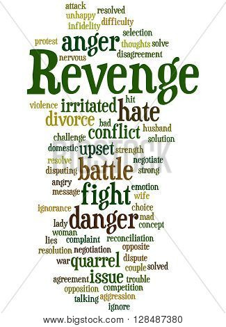 Revenge, Word Cloud Concept 10