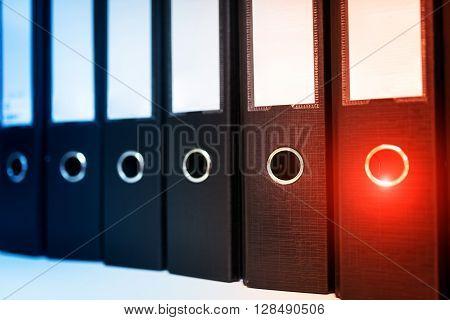Document Folder Office Work Place Room