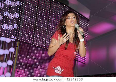 Ukrainian pop star, singer Ani Lorak