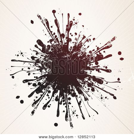 Abstract vector element for design.