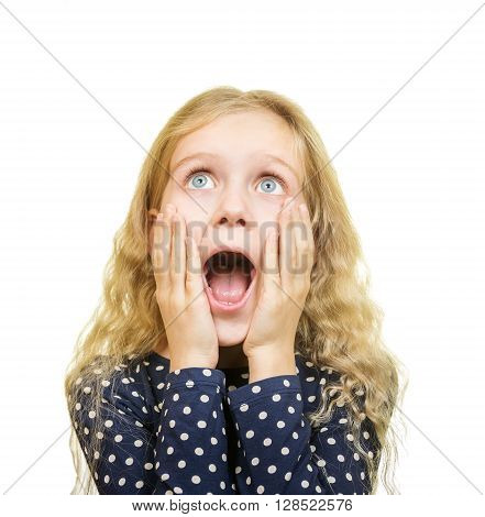 Young Girl With Shocked Expression