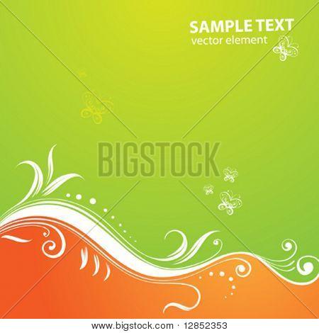 Floral background for design.