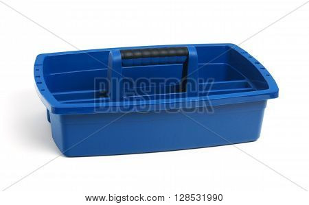 Cleaning Caddy isolated on a white background