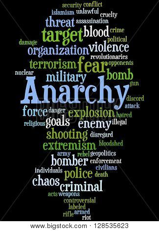 Anarchy, Word Cloud Concept 8