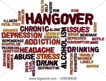 Hangover, Word Cloud Concept 7