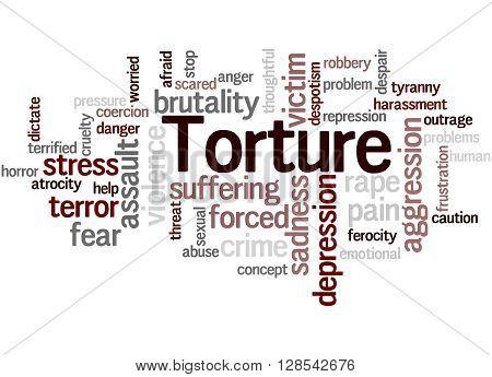 Torture, Word Cloud Concept