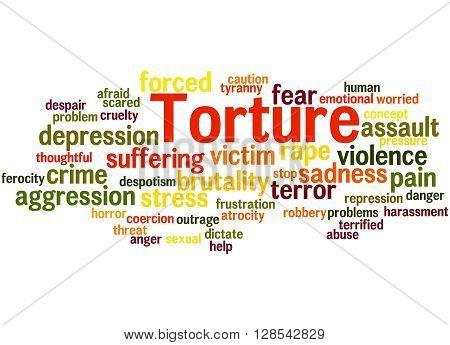 Torture, Word Cloud Concept 9