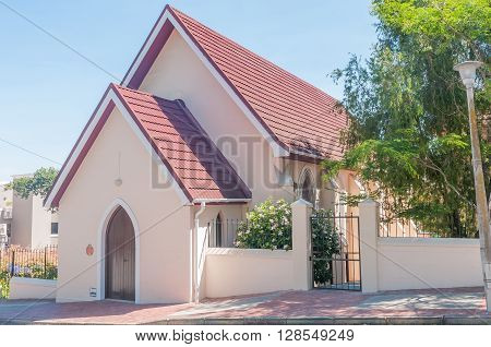 KNYSNA SOUTH AFRICA - MARCH 3 2016: The Methodist Church in Knysna was opened on 29 October 1893