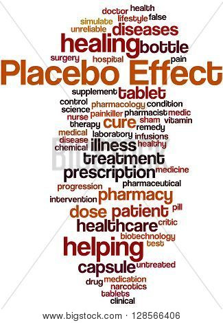 Placebo Effect, Word Cloud Concept 8