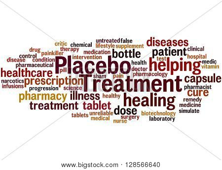 Placebo Treatmen, Word Cloud Concept 7