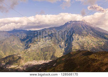 Tungurahua Volcano Devastating Explosion Ecuador South America