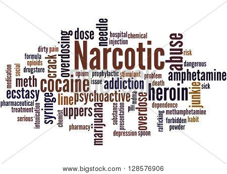 Narcotic, Word Cloud Concept 4