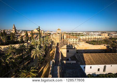 Alcazar de los Reyes Cristianos Cordoba Spain