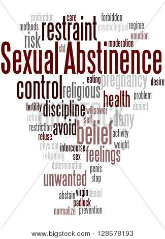 Sexual Abstinence, Word Cloud Concept 6