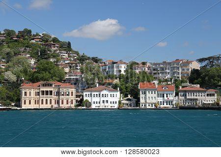Buildings Istanbul City, Turkey