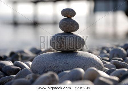 Pebbles On A Seashore
