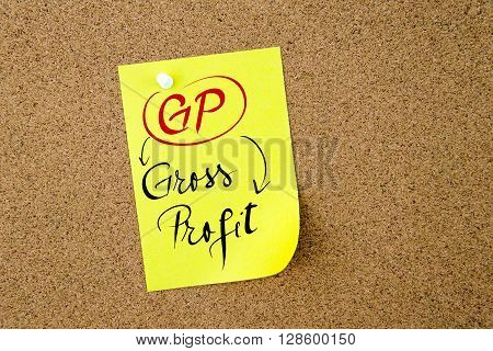 Business Acronym Gp Gross Profit