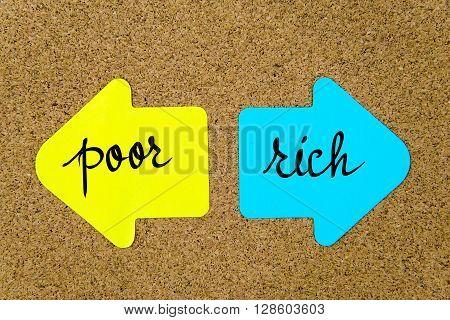 Message Poor Versus Rich