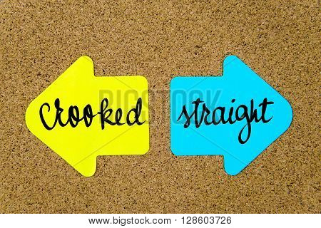 Message Crooked Versus Straight