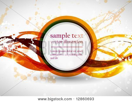 Abstract line background for design. Eps 10 vector. Dirty grunge background.