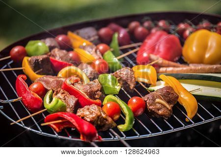 Vegetables And Meat
