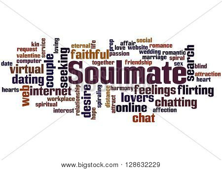 Soulmate, Word Cloud Concept 9