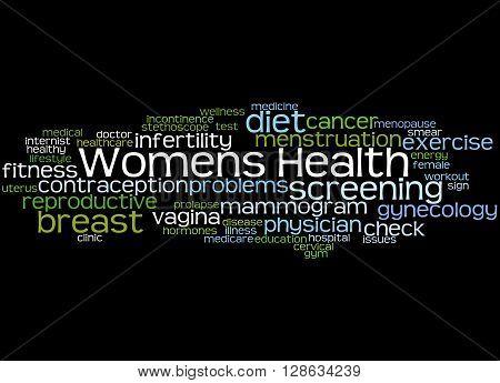 Womens Health, Word Cloud Concept 4
