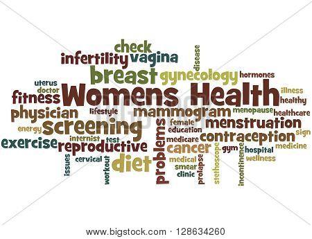 Womens Health, Word Cloud Concept 6