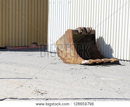 Bucket And Wall
