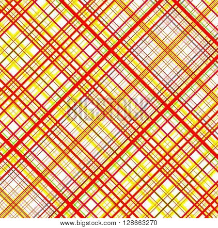 Orange and yellow vibrant colors grid pattern.