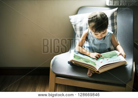 Offspring Toddler Adolescent Cheerful Girl Happy Concept