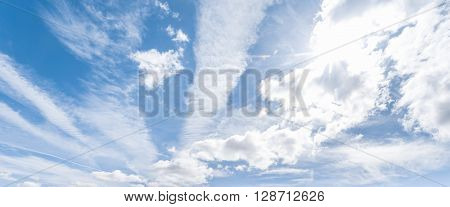 Blue sky clouds background great background for your next project