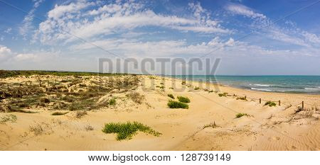 The coast of Mediterranean sea Costa Blanca Spain