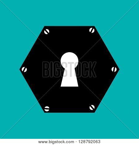key hole  design, vector illustration eps10 graphic
