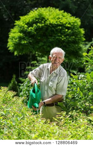 Gardener With A Watering Can