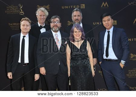 LOS ANGELES - APR 29: Niko and the Sword of Ligh at The 43rd Daytime Creative Arts Emmy Awards Gala at the Westin Bonaventure Hotel on April 29, 2016 in Los Angeles, California