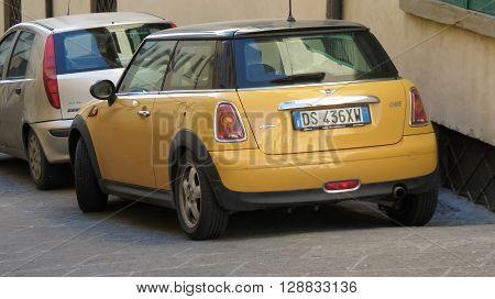 Yellow Mini One